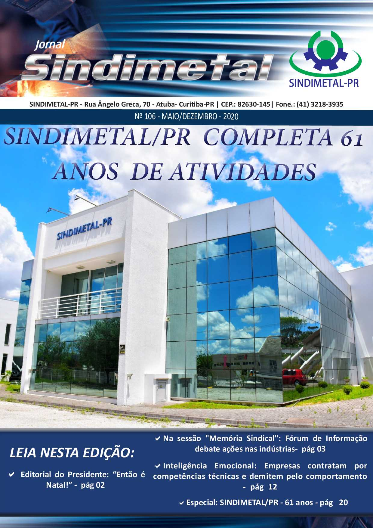 Jornal Sindimetal - Edição106