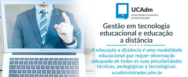 Gestão em tecnologia educacional e educação a distância